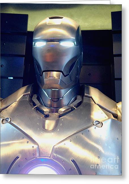 Iron Man 1 Greeting Card by Micah May