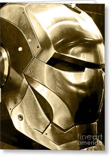Iron Man 18 Greeting Card by Micah May