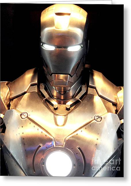 Iron Man 3 Greeting Card by Micah May