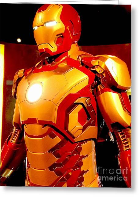 Iron Man 6 Greeting Card by Micah May