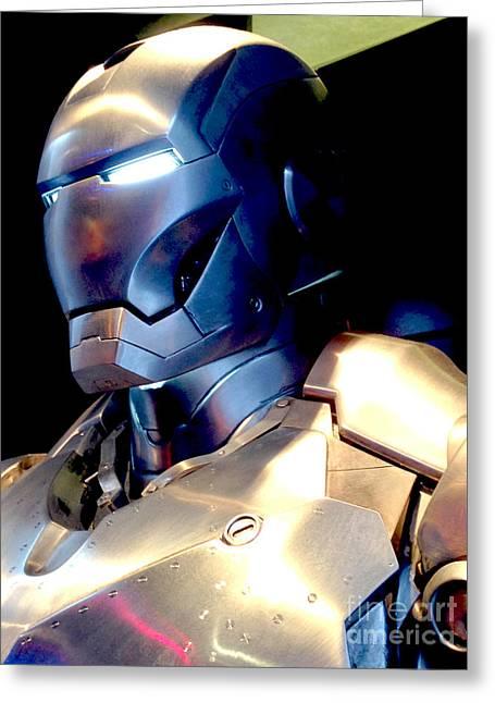 Iron Man 9 Greeting Card by Micah May