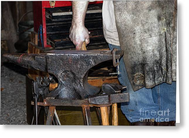 Apron Greeting Cards - Iron Works  Greeting Card by Steven  Digman