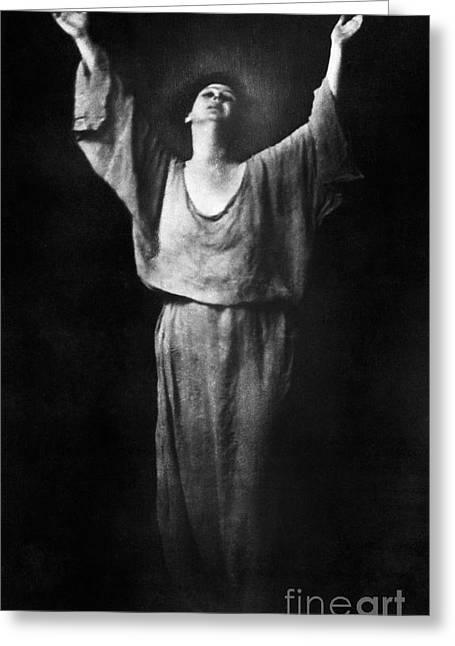 Isadora Duncan (1877-1927) Greeting Card by Granger