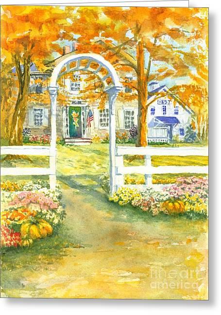 Isaiah Hall Greeting Card by Robert Haeussler