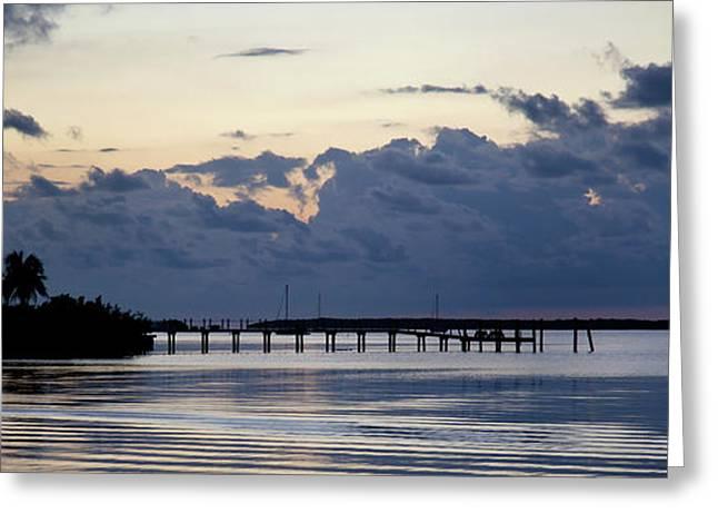 Sailboats Docked Greeting Cards - Islamorada Blues Florida Keys Greeting Card by Michelle Wiarda