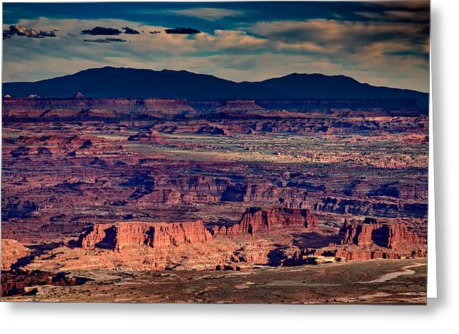 Canyonlands Greeting Cards - Island In The Sky Greeting Card by Rick Berk