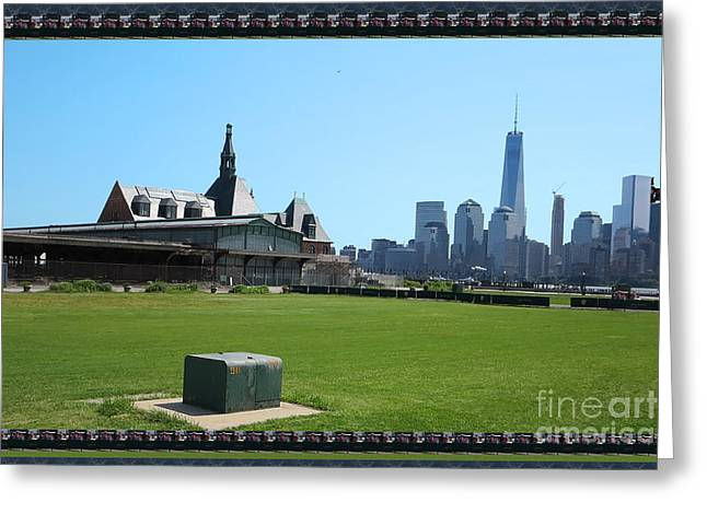 Commercial Photography Greeting Cards - Island Park Elise Museaum of American Immigration Journey Trip to NewYork travel zone America photog Greeting Card by Navin Joshi