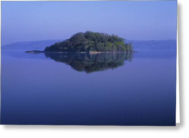 Haze Greeting Cards - Isle Of Innisfree, Lough Gill, Co Greeting Card by The Irish Image Collection