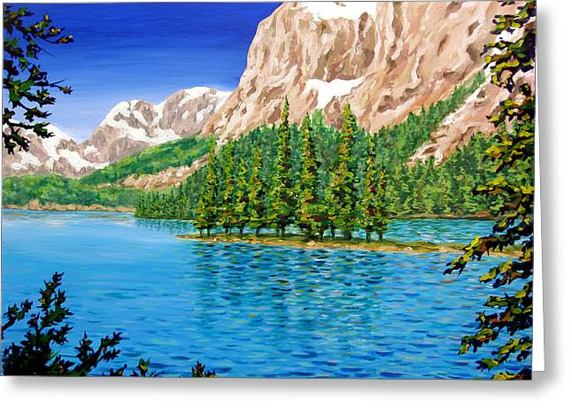 Lake Greeting Cards - Isolation Greeting Card by Patrick Parker