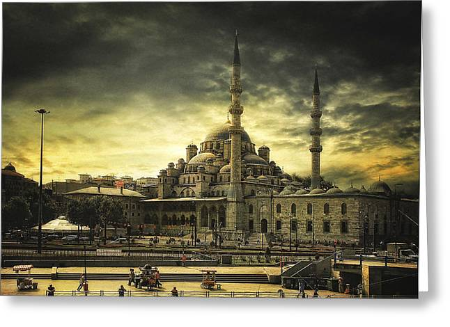 Istanbul Greeting Card by Tais