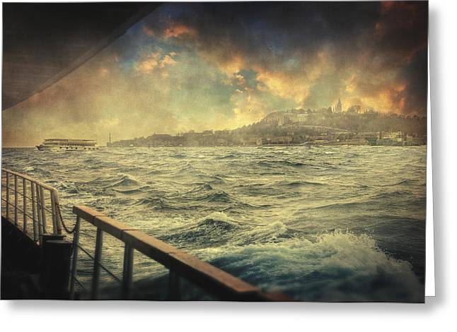 Marmara Greeting Cards - Istanbul Greeting Card by Taylan Soyturk