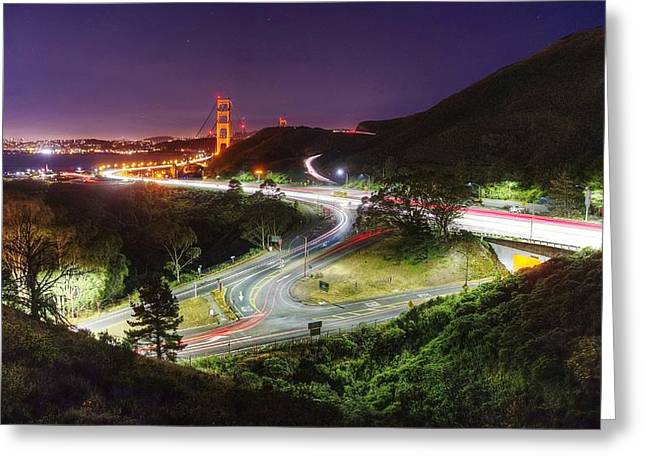 Exposure Greeting Cards - It never stops, it never gets old Greeting Card by Peter Thoeny