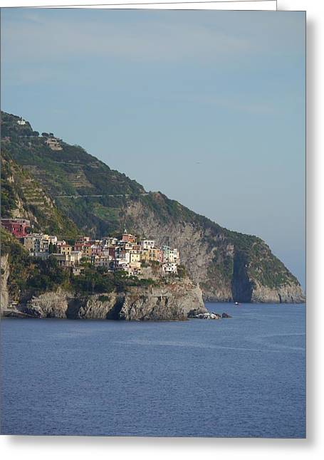Cinqe Terre Greeting Cards - Italian Memories 17 Greeting Card by Brendan Mulcahy
