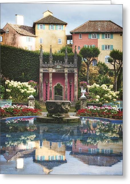 Stone Architecture Greeting Cards - Portmeirion - Wales Greeting Card by Joana Kruse