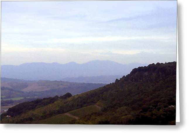 Italian Landscapes Digital Greeting Cards - Italy Greeting Card by Mindy Newman
