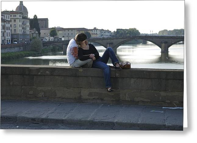 20-25 Years Greeting Cards - Italy, Tuscany, Florence, A Young Greeting Card by Keenpress