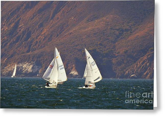 Best Sailing Photos Greeting Cards - Its 5 OClock Somewhere Greeting Card by Scott Cameron