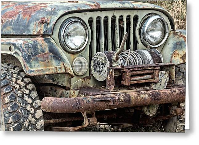 Cj-7 Greeting Cards - Its a Jeep Thing Greeting Card by JC Findley
