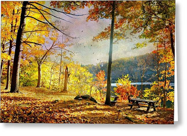 It's A Picnic Greeting Card by Diana Angstadt