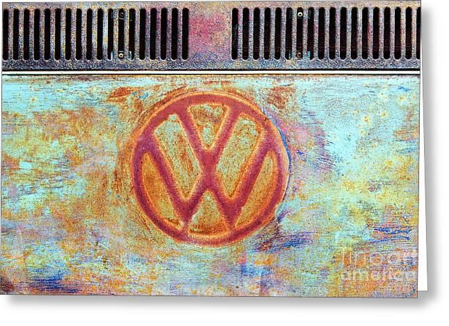 Its A Van Thing Greeting Card by Tim Gainey