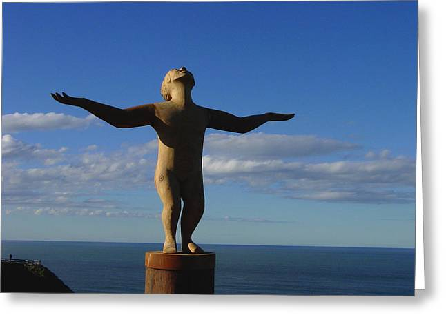 Dance Sculpture Greeting Cards - Its a wonderful life Greeting Card by Edan Chapman