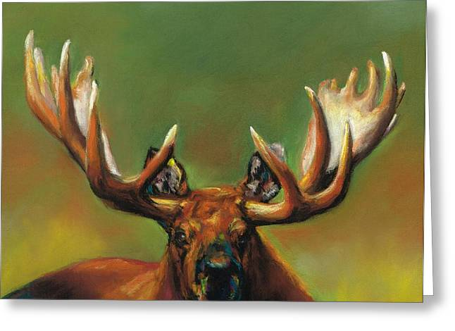 Its All About The Rack Greeting Card by Frances Marino
