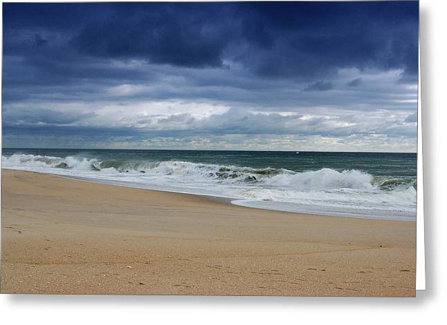 Its Alright - Jersey Shore Greeting Card by Angie Tirado