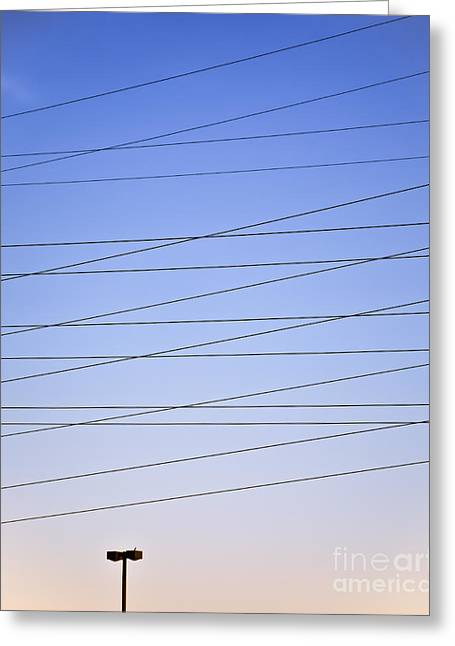 Electric Current Greeting Cards - Its Electric 2 Greeting Card by Patrick M Lynch