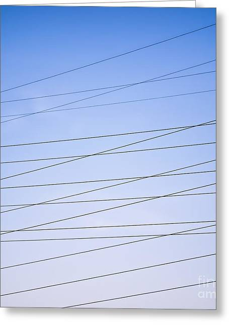 Electric Current Greeting Cards - Its Electric Greeting Card by Patrick M Lynch