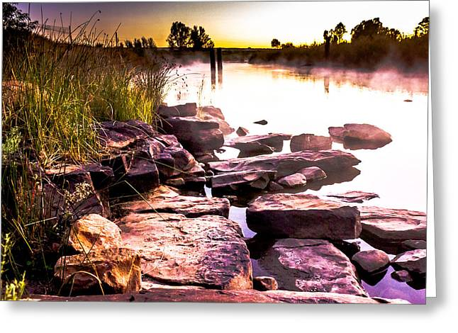 Photo Art Gallery Greeting Cards - Its here Greeting Card by George Fivaz