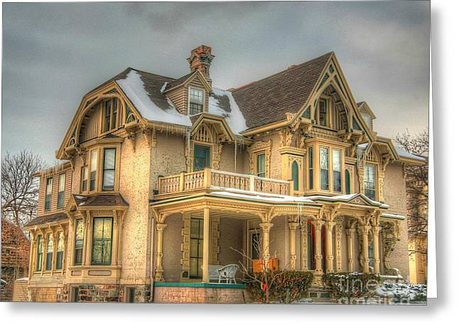 Old House Photographs Photographs Greeting Cards - Its History-3 Greeting Card by Robert Pearson