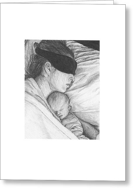 Daughter Gift Greeting Cards - Its OK to Rest Greeting Card by Susan Singer
