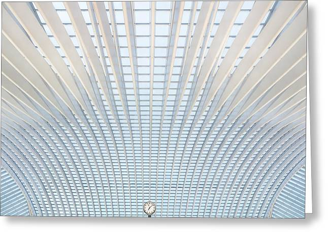 Calatrava Greeting Cards - Its Only A Matter Of Time Greeting Card by Michiel Hageman