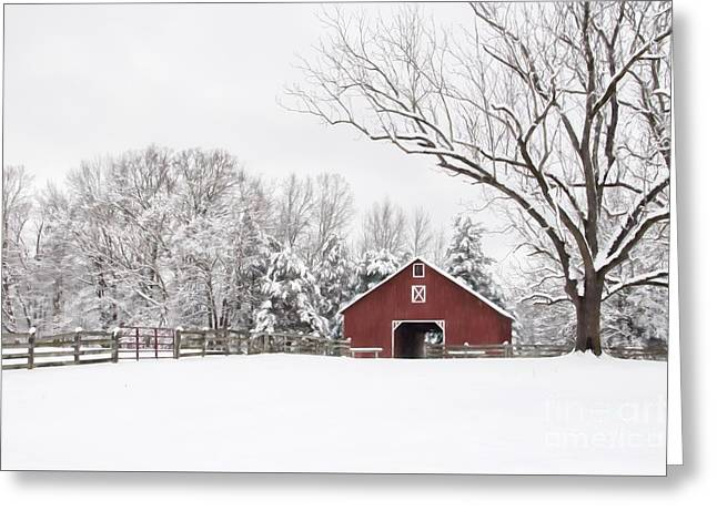 It's Snow Mesmerizing Greeting Card by Benanne Stiens
