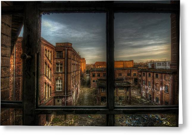 Manufacturing Digital Art Greeting Cards - Its the end Greeting Card by Nathan Wright