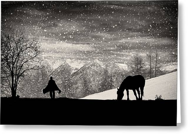 Western Photographs Greeting Cards - Its Time To Go Greeting Card by Vito Guarino