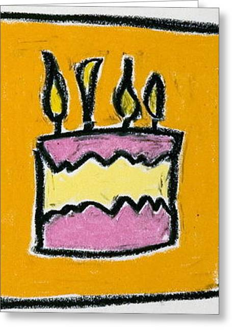 Layers Pastels Greeting Cards - Its Your Birthday Greeting Card by Pat  Lackenbauer