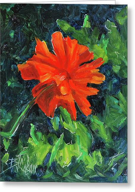 I've Got My Red Dress On Greeting Card by Billie Colson