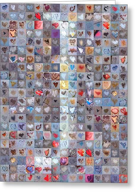 Found Greeting Cards - J in Confetti Greeting Card by Boy Sees Hearts