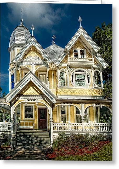 Florida House Greeting Cards - J. P. Donnelly House Greeting Card by Christopher Holmes