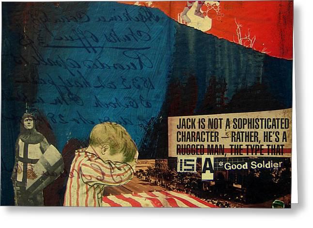 jack Greeting Card by Adam Kissel