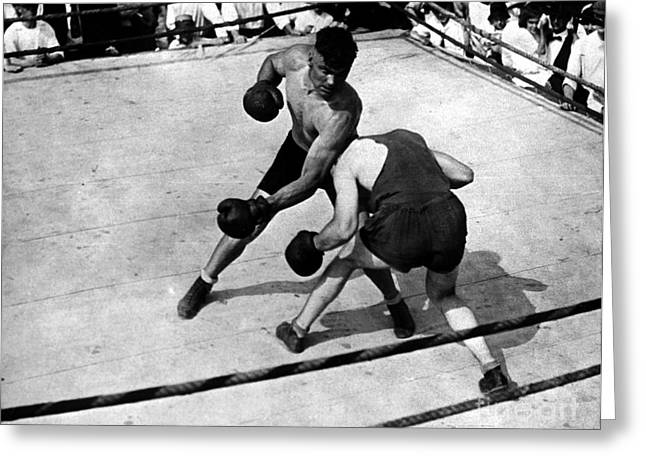 Dempsey Greeting Cards - Jack Dempsey Greeting Card by Granger