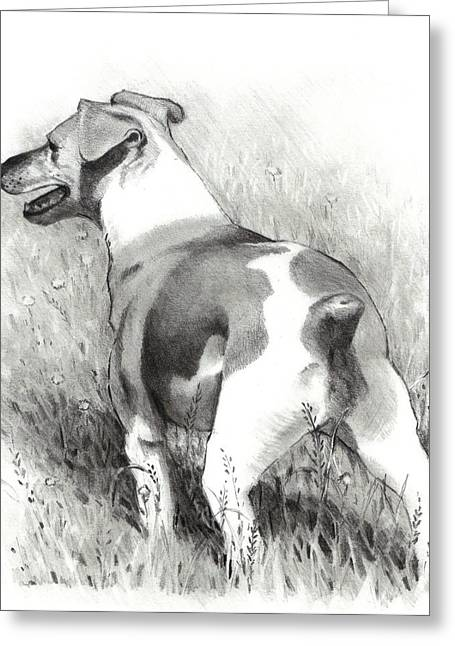 Joyce Geleynse Greeting Cards - Jack Russell Terrier Greeting Card by Joyce Geleynse