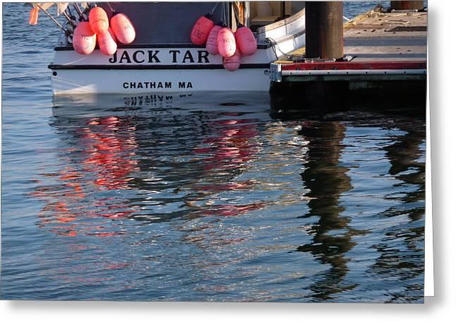 Chatham Greeting Cards - Jack Tar Greeting Card by Heather MacKenzie