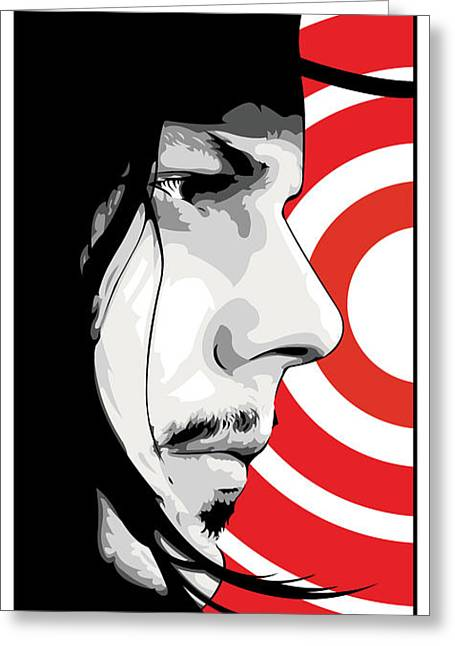 Jack White Greeting Cards - Jack White Greeting Card by Jeff Nichol