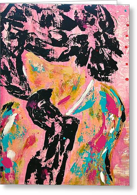 Jackie Kennedy Onassis Greeting Cards - Jackie O. Greeting Card by Stacy Krieg