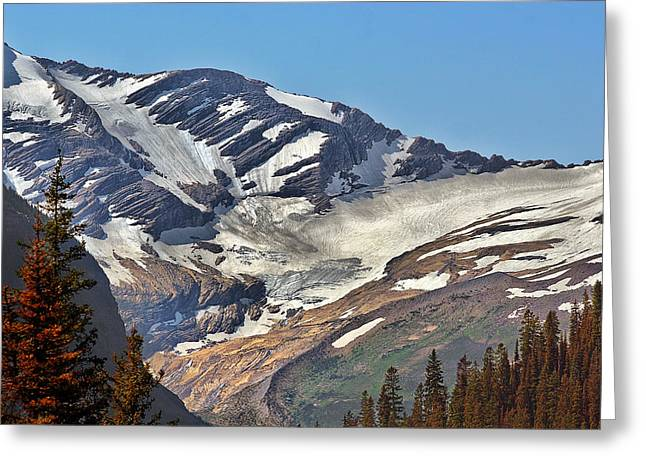 Continental Greeting Cards - Jackson Glacier - Glacier National Park MT Greeting Card by Christine Till
