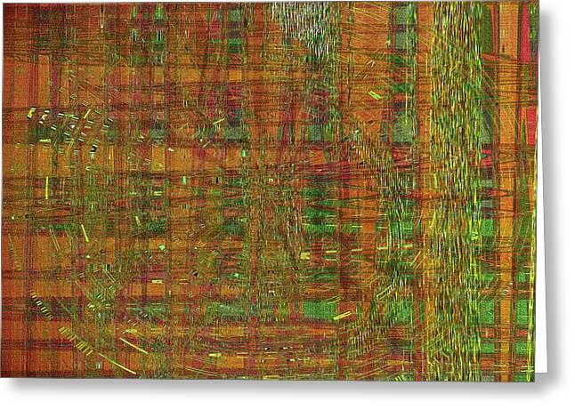 Modern Digital Art Digital Art Greeting Cards - Jade Yellows Greeting Card by Joshua Moore