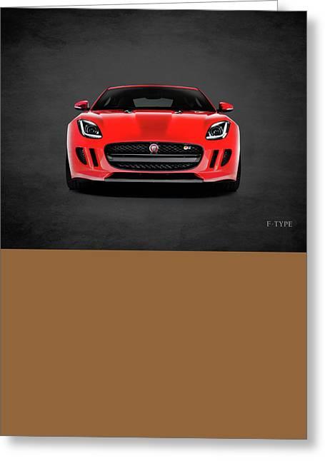 Jaguar F Type Greeting Card by Mark Rogan