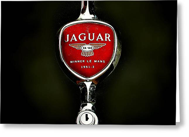 Jaguars Greeting Cards - Jaguar logo Greeting Card by Alexa Szlavics